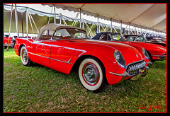 1954 Chevrolet Corvette Convertible - NCRS Top Flight (Wilder PhotoArt) Tags: auto cars chevrolet canon gm events convertible corvette antiqueautos gmc classiccars automobiles generalmotors carshows americaamerica mecum gmfyi canoneos5dmarkii mecumautoauction mecumkissimmee mecumautoauctionkissimmee