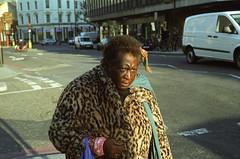 Woman in Pimlico (BartmanSA) Tags: leica 50mm kodak mp portra 800 summilux pimlico