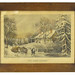 "255. Currier & Ives ""The Snow Storm"" Lithograph"