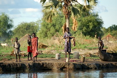 Riverbank - South Sudan (UNEP Disasters & Conflicts) Tags: southsudan africa unepmission environment development pollution poverty peace reconstruction climatechange disaster conflict unep unenvironment