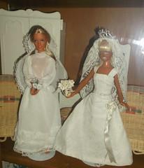 kenner dusty in barbie clone dress?? (vintageguy1972@yahoo.com) Tags: wedding skye dusty bride doll barbie kenner mego jcpenny darci dollclone