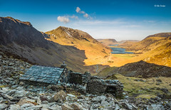 House on the Hill (Michael Straker) Tags: mountain lakedistrict haystacks wainwright cumbria slate bothy honisterslatemine absolutelystunningscapes