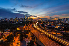 Kuala Lumpur: Rush hour part 3 (of 4) (Hafidz Abdul Kadir) Tags: street new trave