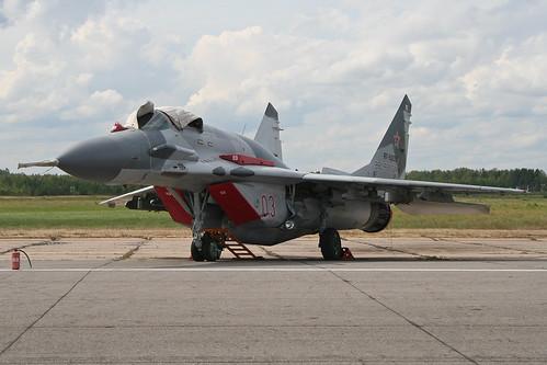 Mikoyan MiG-29SMT Fulcrum 'RF-92235 / 03 red'