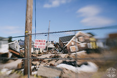 Block After Sandy (lily.szabo) Tags: wood house blur beach home lensbaby newjersey sand ruins destruction nj shore ruined destroy lightroom vsco