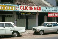 Saigon 1969 - Đường Phạm Ngũ Lão, phố nhà in và nhà xuất bản. (manhhai) Tags: 1969 saigon