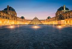 Le Louvre - Paris (Beboy_photographies) Tags: paris france architecture place louvre le palais pyramide lelouvre louvres lelouvres