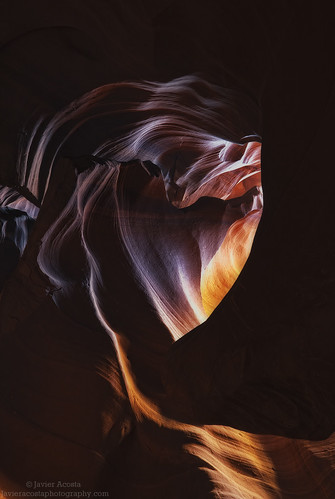 Heart on fire - Upper Antelope Canyon, Page, AZ