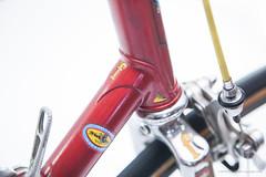 Freschi Supreme Super Criterium (1980s) (OfficineSfera) Tags: road italy milan bicycle strada super turbo record criterium supreme bikeporn campagnolo nuovo ambrosio drilled freschi milled