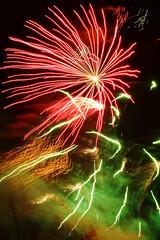 Festival of Light (Dan Cook Archived (dan-scape.co.uk)) Tags: red orange green fireworks events festivaloflight matlock matlockbath