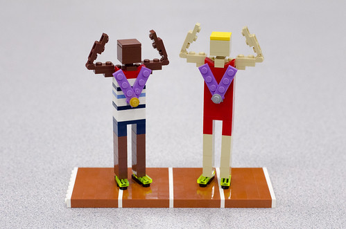 Mo Farah and Galen Rupp