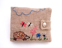 Another one (Madame Renard) Tags: nature animal embroidery sewing craft acessories