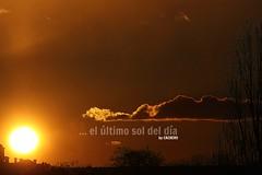 ... el ltimo sol del da (marioadaja) Tags: cloud sol atardecer cielo nube cachero elultimosoldeldia