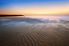 Purity of the morning (khalid almasoud) Tags: morning light sea 6 beach lines early exposure flickr all glare photographer time pentax horizon  scene calm beam rights estrellas area shutter kuwait sands khalid reserved purity  icapture     greatphotographers    photographyrocks k01 alkhairan almasoud    thebestofday gnneniyisi