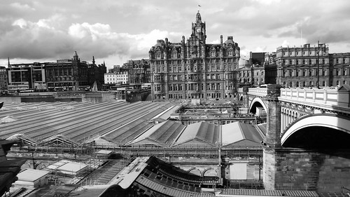 view from the Scotsman Steps