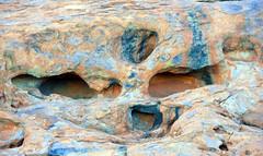 face on the rock Uluru Kata Tjuta National Park red centre Central Australia Northern Territory 2013  _6377 (gervo1865_2 - LJ Gervasoni) Tags: park red rock march desert nt centre central australia national uluru kata geology ayers monolith juta 2013 photographerljgervasoni
