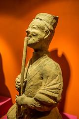 Flautista (206 a.C - 8 d.C), dinastía Han,  Sto Domindo de la Calzada. (Jose Antonio Abad) Tags: españa larioja santodomingodelacalzada joséantonioabad
