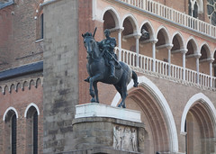 Donatello, Gattamelata (head on far)