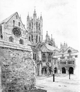 Archbishop Wibert's water tower, Christ Church Priory, Canterbury
