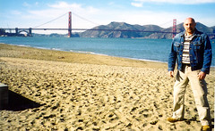 SF2002-004a (renatobernardin) Tags: sanfrancisco goatee lee denim casual jeanjacket renato timberland cargotrousers