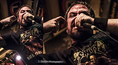 Darkness By Oath (J.Seijo Photography) Tags: musica vigo conciertos vocalista melodicdeathmetal dbo hangar77 darknessbyoath