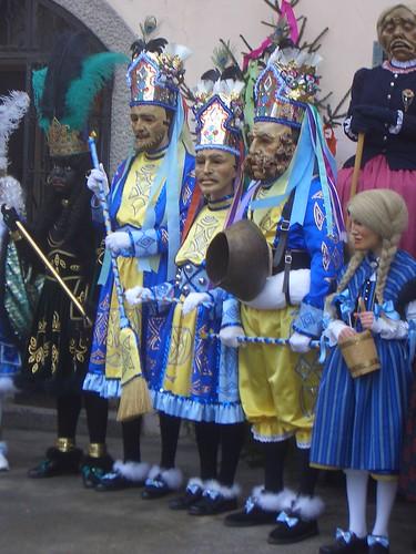 Carnaval em Nassereith - Tirol - Austria