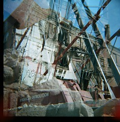 (jessjane1215) Tags: chicago film mediumformat multipleexposure diana dianaf filmphotography kodakportra400 kodakportra