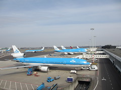 SCHIPOL AIRPORT (dav_min) Tags: holiday holland netherlands royal boeing klm schipol 747 amsterdam2013