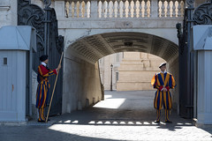Vatican: Swiss Guard (ogmueller) Tags: rome military italy stockcategories lazio europe places vaticancity roma