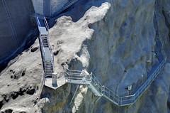 Stairs on the rocks (greenoid) Tags: stairs staircase stairway treppe treppenstufen fels rock alpen schweiz switzerland gebirge moutains