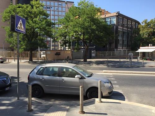 #italianparking in front of government building @garbatella Rome