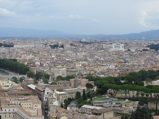 Rome: St. Peter's Basilica - View From Dome (Southeast)