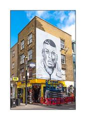 Advertisment, East London, England. (Joseph O'Malley64) Tags: advert advertising advertisment product products sale sales selling bricklane eastlondon london england uk britain british greatbritain sold soldout sellout bull