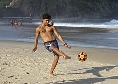 Footvolley at Leme beach (alobos Life) Tags: footvolley sport futbol ball sand arena boy guy garoto cute nice beautiful water beach playa funny enjoying rio de janeiro brasil brazil have fun outdoors candid brazilian brasileo futevolei 2016 leme