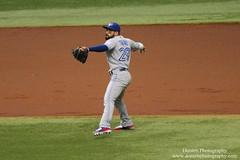 Devon Travis (jwdonten) Tags: majorleaguebaseball americanleague torontobluejays tropicanafield devontravis