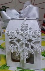 Cristallo di ghiaccio bomboniera matrimonio (Armonie di filo) Tags: uncinetto filo cotone cristallo ghiaccio natale christmas inamidato bomboniera matrimonio argento glitter argentato brillantini mano segnaposto