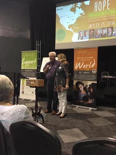 Ed & Cheryl Ministering