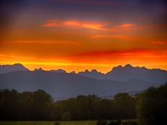 IMG_0839 sunset (pinktigger) Tags: sunset sly mountains country countryside fagagna feagne friuli italy italia landscape