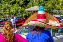 That hat....... (Paul Rioux) Tags: outdoor sooke carshow showandshine colours colour prioux hat sombrero