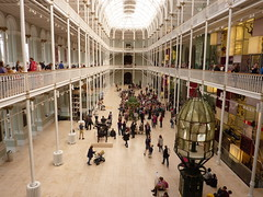 The National Museum of Scotland (jkw_fire_horse) Tags: edinburgh building architecture museum spires roofs august2016