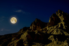 Happy Moon Festival (CJ Luck) Tags: blue cj california deathvalley deathvalleynationalpark festival moonfestival mountain mountainpeak national outdoor sky sony sonya77 twilight usa yellow autumn background brown chineseoccasion cjluck closeup colorfulrocks countryside event fall golden landmark lanscape light moon natural nature night occasion park peak rocks sandstone scenery scenic scent sealevel silhouette top