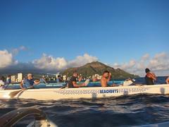 IMG_6825 (nautical2k) Tags: waikikibeachboys paddling outrigger canoe diamondhead honolulu oahu