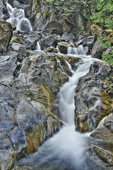 Kingwater (El Justy) Tags: waterfall waterfalls washington stevenspass deceptionfalls landscape nature outdoor outdoors scenery pnw pacificnorthwest summer water flow photography