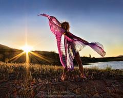 Glory Glory (landbergmary) Tags: marylandberg conceptualphotography conceptualportrait portrait brave courageous puttingitoutthere uninhibited fearless goldenhour sunset