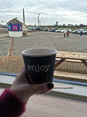 Selfie Sunday (Jainbow) Tags: sealifecentre bluereefcentre southsea seafront portsmouth cup tea jainbow