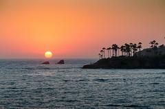 Sunset (AMaleki) Tags: 2016 lagunabeach landscape nikond7000 orangecounty pacificocean seascape sunset
