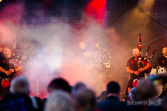 Red Hot Chilli Pipers & Fireworks (JulesCanon) Tags: redhotchillipipers rhcp bagpipes bagpipe rock music highlanddancers musicfestival donaghadee donaghadeelightsup northernireland codown blackwaterimages colour blackandwhite outdoors fireworks fireworkdisplay ulsterscots