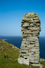 Cairn (DSC_9935) (AngusInShetland) Tags: shetland scotland lighthouse sumburghhead sumburgh dunrossness cairn lichen greenman