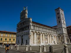 Lucca - S.Michele (fil_de_fer) Tags: 2016 italia viafrancigena chiesa church toscana