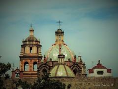 Cupulas (vonne) Tags: cupulas iglesia aranzazu san luis potosi slp mexico arquitectura barroco church city